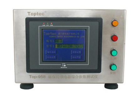 Top-958 Magnetic latching relay comprehensive parameter test instrument