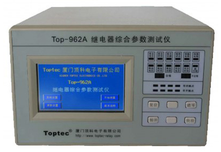 Top-962A Relay comprehensive parameter test instrument