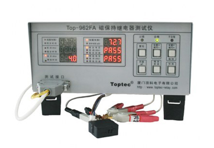Top-962FA Magnetic latching relay test instrument